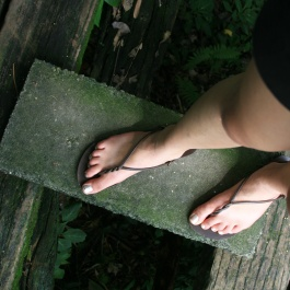I was aptly prepared with my hiking sandals. In all honesty they weren't too bad!