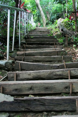 Trail stairs