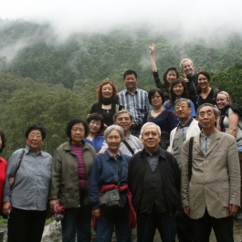 Visitors from Mainland China let us hop in the photo. I'm in back right with the brown hair :)