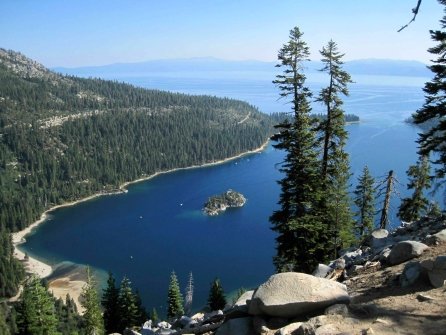 View of Emerald Bay