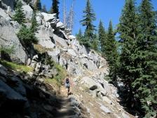 Dan on the trail
